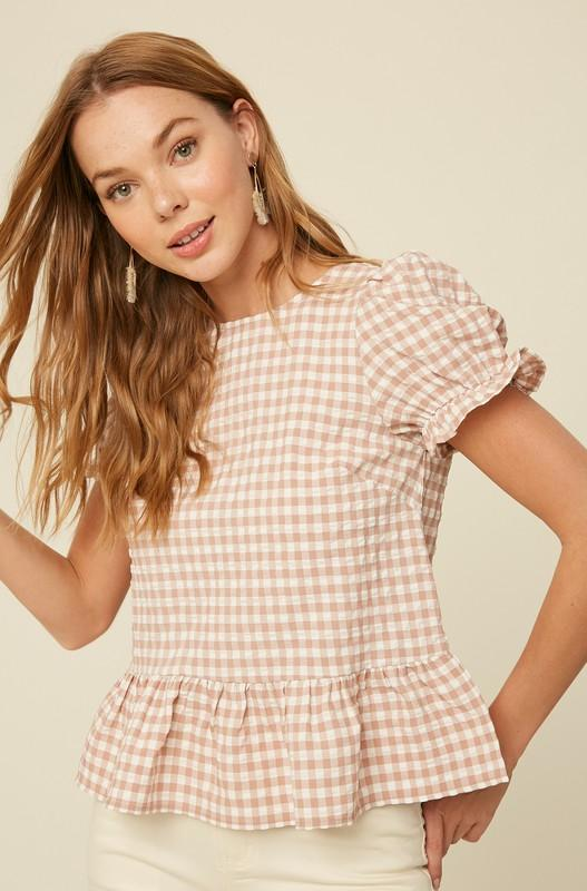 Blouse - The Ashton Top In Blush