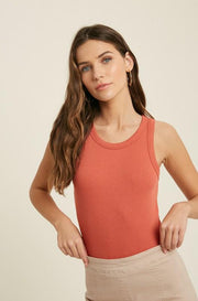 Blouse - The Lily Bodysuit In Coral