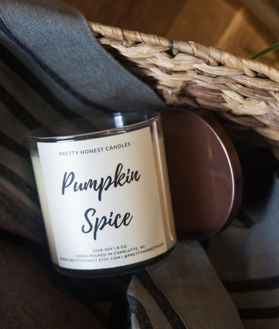 Candle - Pumpkin Spice Candle By Pretty Honest