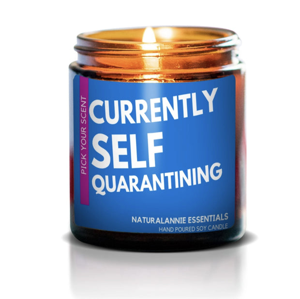 Candle - Self Quarantining Natural Soy Candle