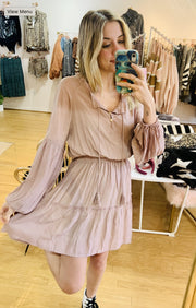 Dress - The Crissie Dress In Mauve