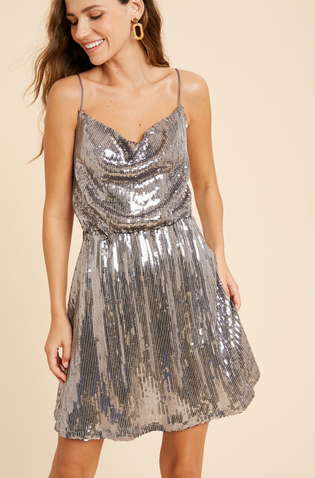 Dress - The Donna Sequin Dress