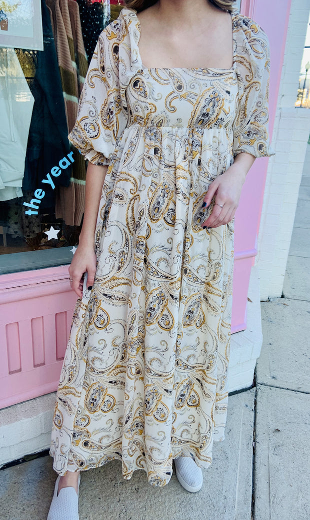 Dress - The Ella Paisley Dress