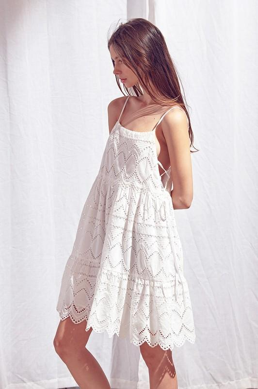 Dress - The Gia Eyelet Dress