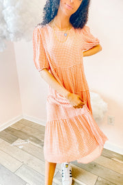 Dress - The Linnea Dress In Coral
