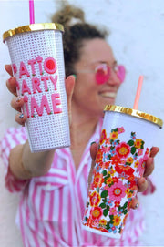 Drinkware - Patio Party Tumbler