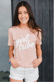 Girl Tribe™ Peach T-Shirt