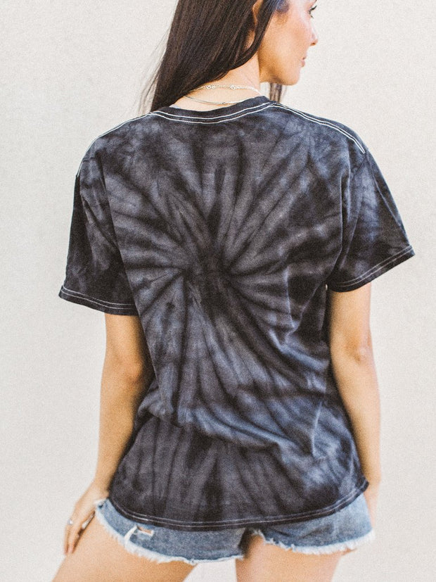 Graphics - Here Kitty Tie Dye Tee *Pre-Order*