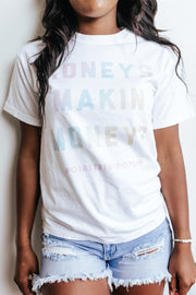 Graphics - Honeys Makin Moneys Rainbow Tee *Pre-Order*