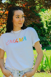 Graphics - Mama Rainbow Tee