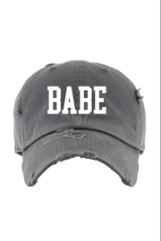 Hat - Babe Hat In Charcoal