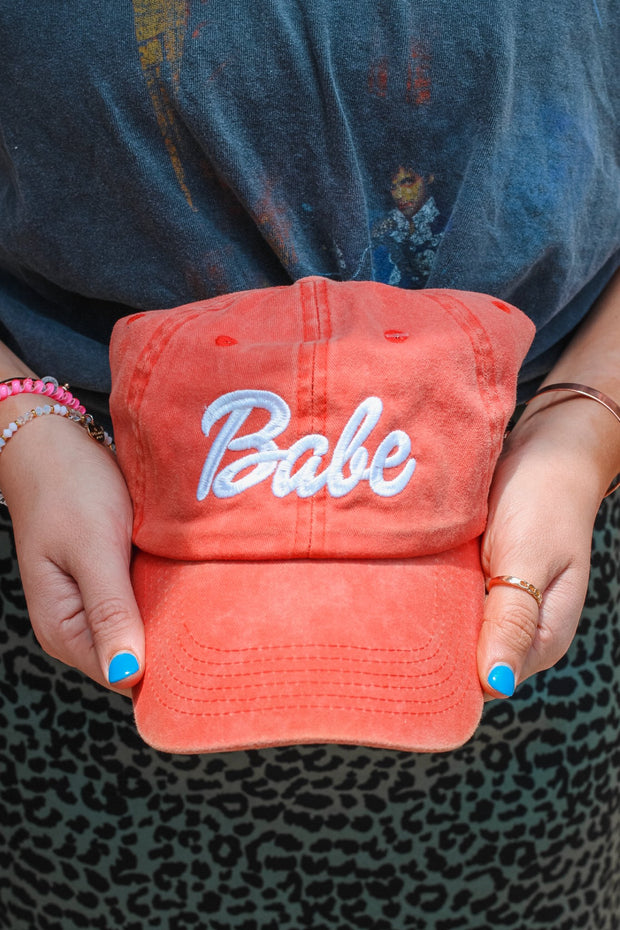 Hat - Babe Hat In Coral