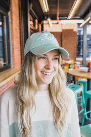 Hat - Babe Hat In Sage Green