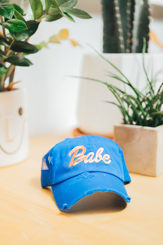 Hat - Babe Hat In Blue