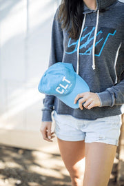 Hat - CLT Dad Hat - Panther Blue #GirlTribeGameDay