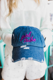 Hat - Girl Tribe Hat In Denim