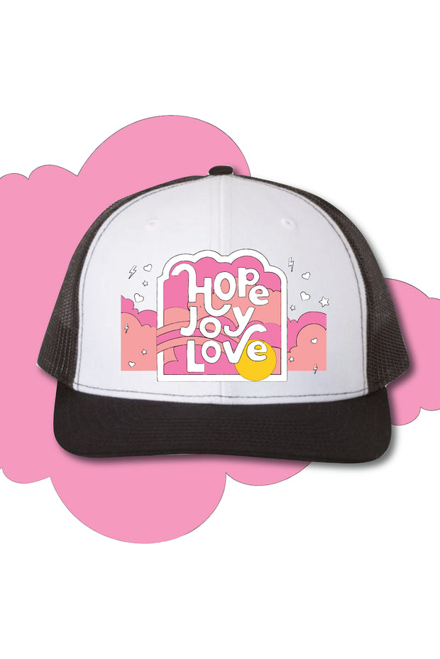 Hat - Hope Joy Love Trucker Hat