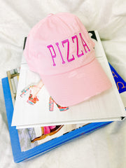Hat - Pizza Hat In Pink
