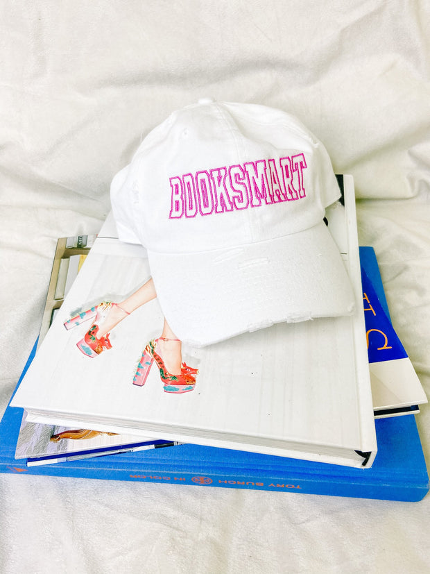Hat - The Booksmart Hat In White