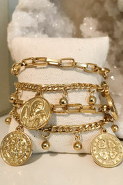 Jewelry - All Saints Coin Bracelet