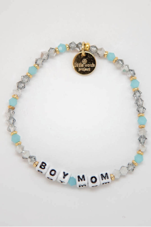 Jewelry - Little Words Project -  Boy Mom Bracelet (4524269895734)