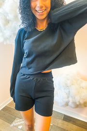 Lounge Wear - Dana Scott Sweatshirt In Midnight