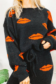 Lounge Wear - Kiss Kiss Cozy Sweater