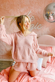 Lounge Wear - The Laurie Set In Blush