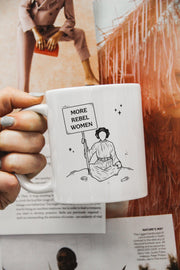 Mugs - More Rebel Women Mug