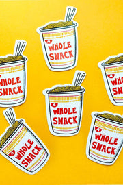 Paper Goods - A Snack Sticker