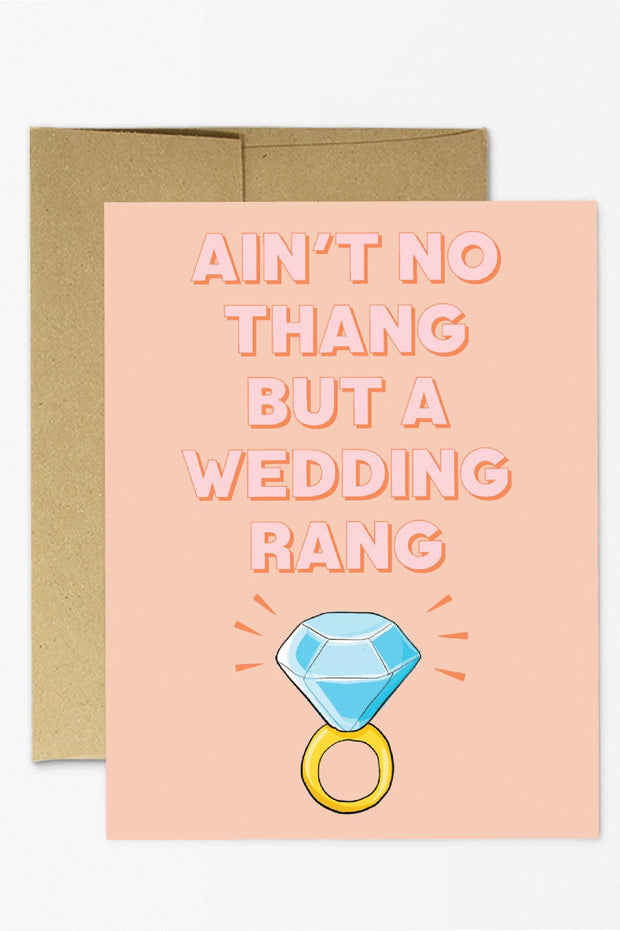 Paper Goods - Ain't No Thang Card