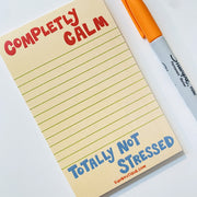 Paper Goods - Completely Calm Notepad