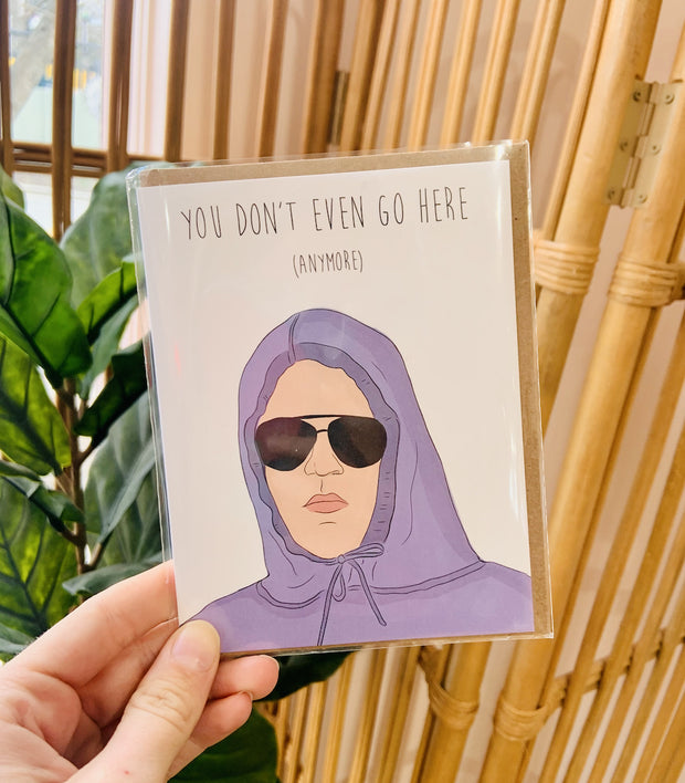 Paper Goods - Damien Mean Girls Card