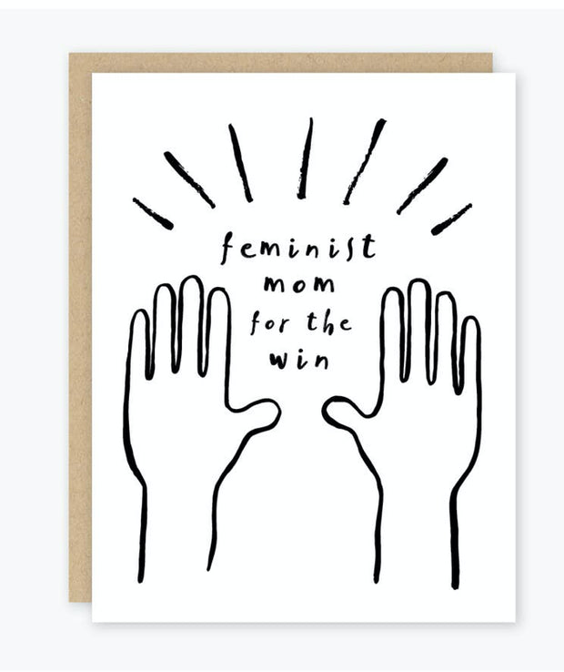 Paper Goods - Feminist Mom Mother's Day Card (4536016207926)