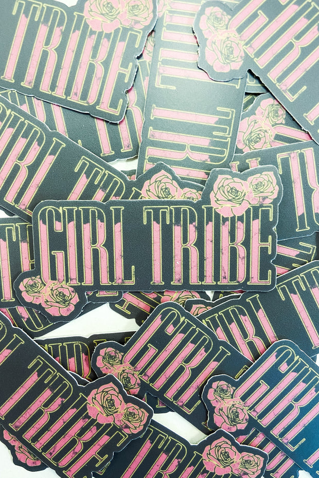 Paper Goods - Girl Tribe N' Roses Sticker