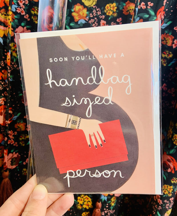 Paper Goods - Handbag Sized Person Card