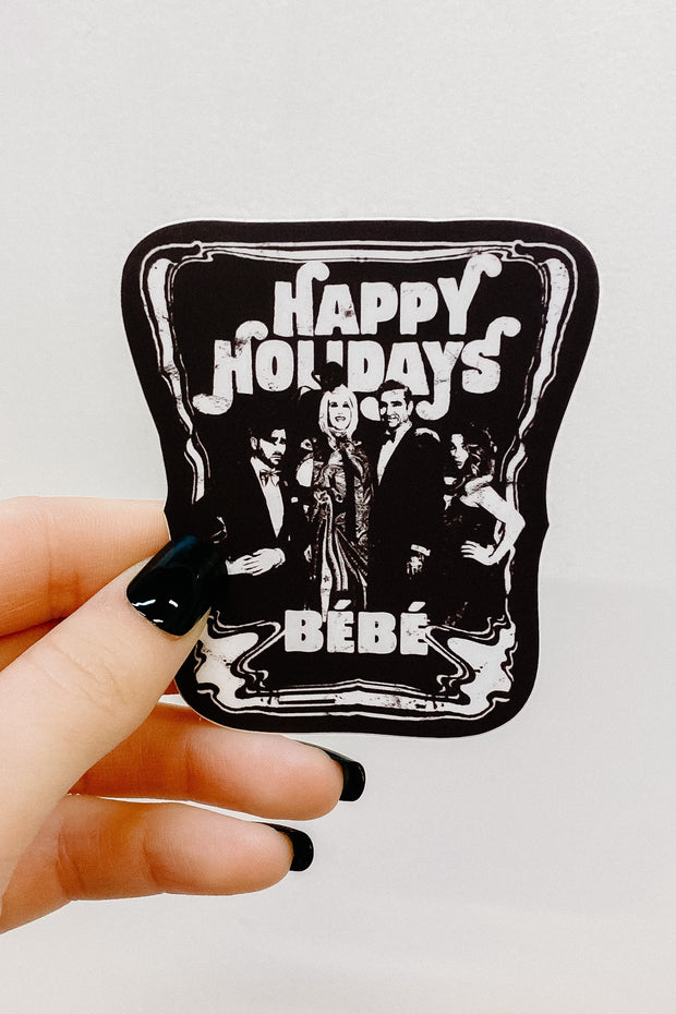 Paper Goods - Happy Holidays Bébé Schitt's Creek Sticker