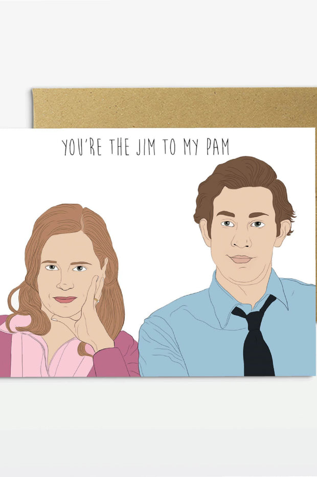 Paper Goods - Jim To My Pam Card