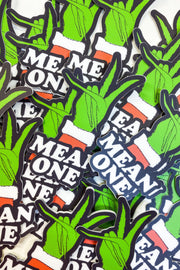 Paper Goods - Mean One Grinch Sticker