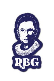Paper Goods - RBG Navy Sticker