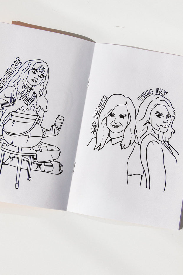 Paper Goods - Rebel Women Coloring Book Vol 2