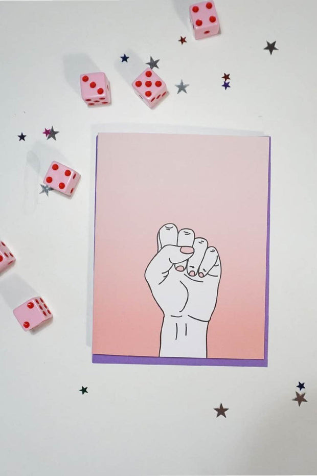 Paper Goods - Resist Card
