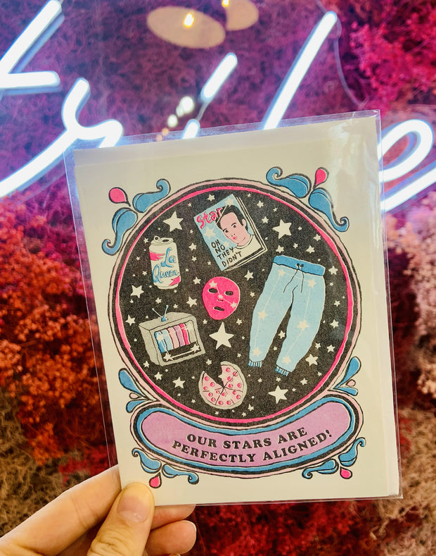 Paper Goods - Stars Perfectly Aligned Card