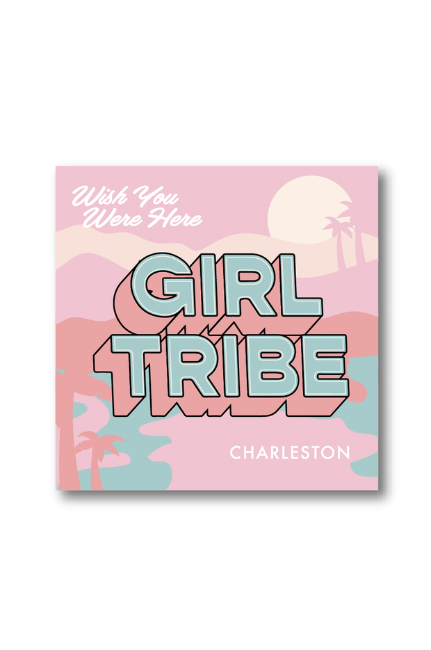 Paper Goods - Wish You Were Here Charleston Sticker