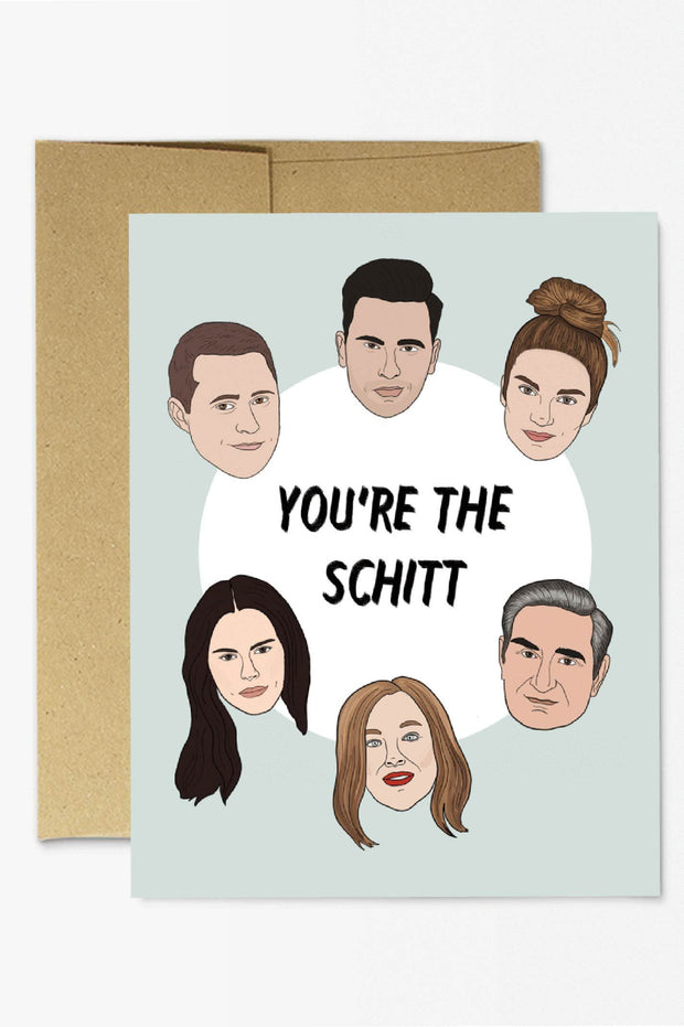 Paper Goods - You're The Schitt Card