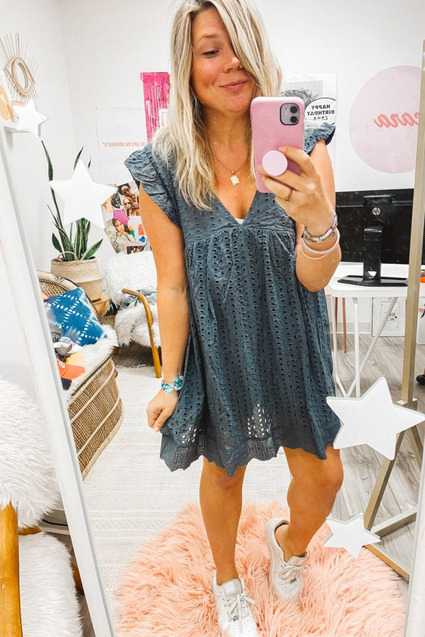 Rompers - Avery Romper In Charcoal