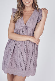 Rompers - Avery Romper In Lilac