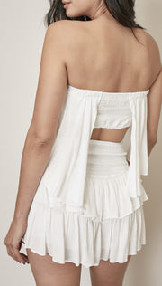 Rompers - The Lacey Romper In White