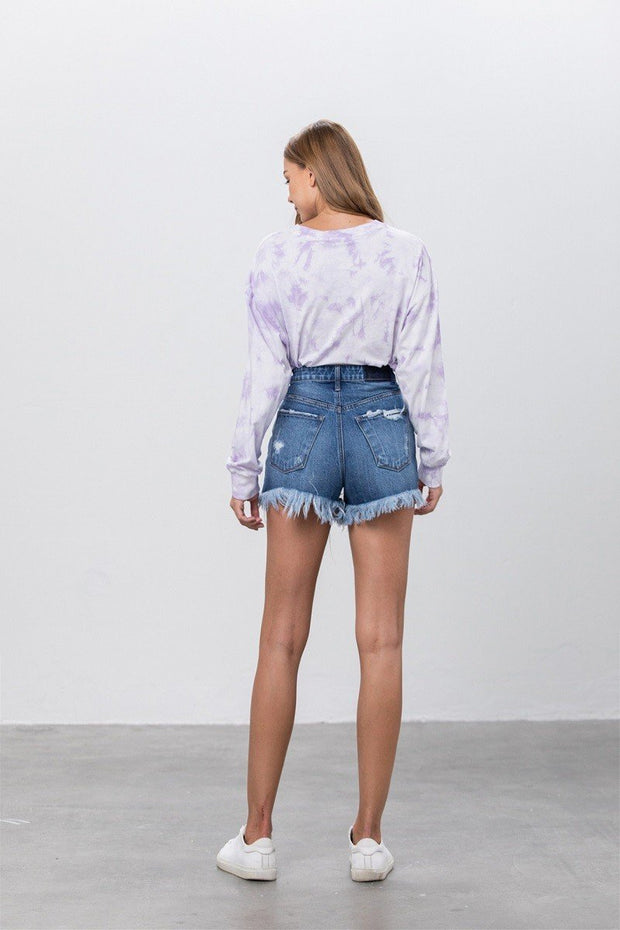 Shorts - The Carrie Denim Shorts
