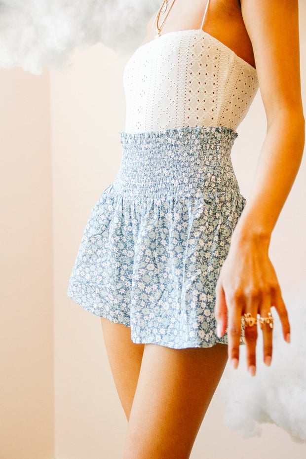 Shorts - The Eloise Shorts In Blue